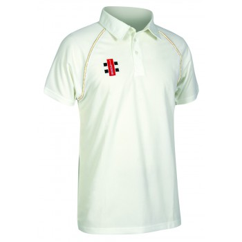 Gray Nicholls Matrix Short Sleeve Cricket Shirt