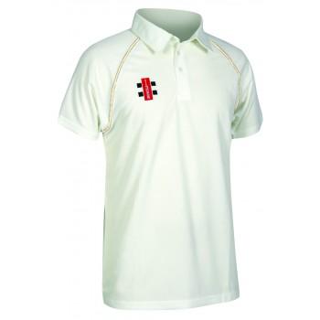 Gray Nicholls Matrix Short Sleeve Cricket Shirt