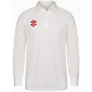 Gray Nicholls Matrix Long Sleeve Cricket Shirt