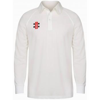 Gray Nicholls Matrix Long Sleeve Cricket Shirt