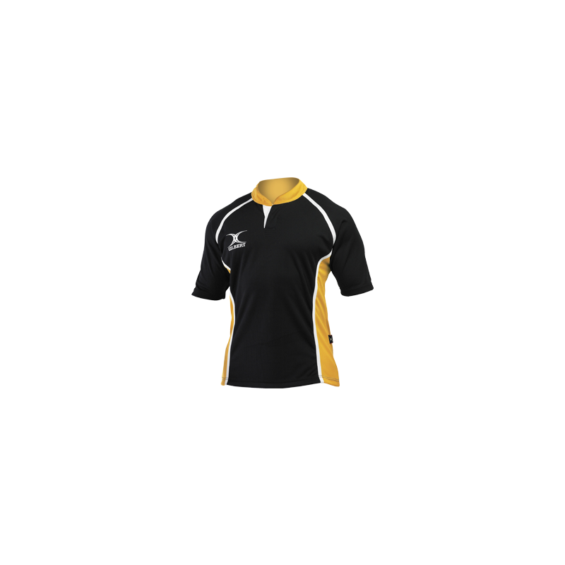 Gilbert Xact 2 Tone Rugby Shirt