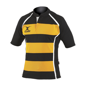 Gilbert Xact Hooped Rugby Shirt