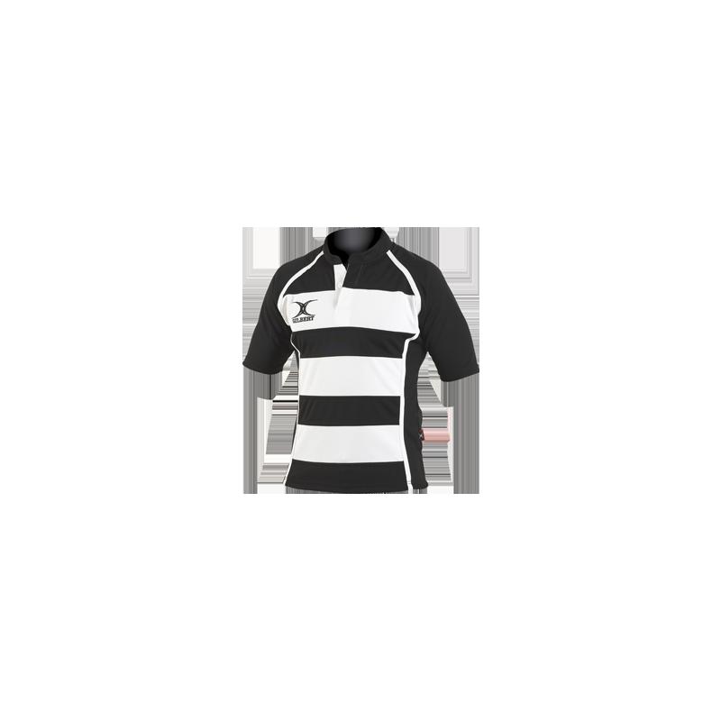 Gilbert Xact Hooped Rugby Shirt