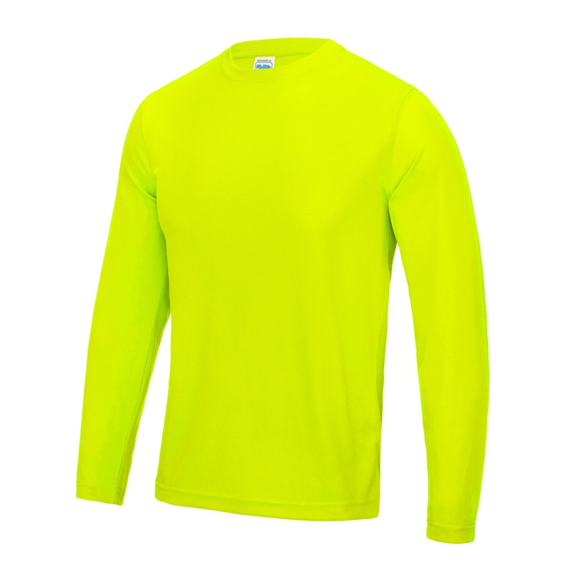 Cool Wicking Long Sleeved  Mens T-Shirt