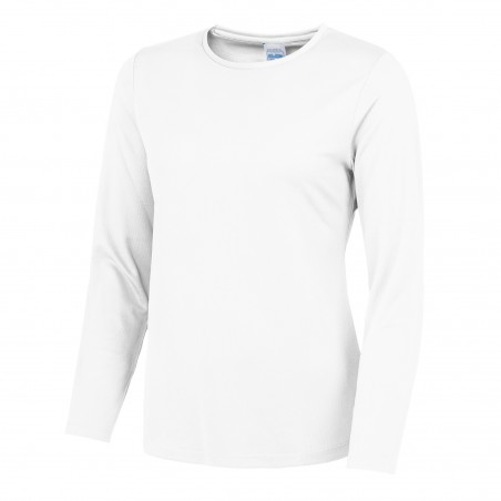Ladies Long Sleeve Cool Wicking T-Shirt