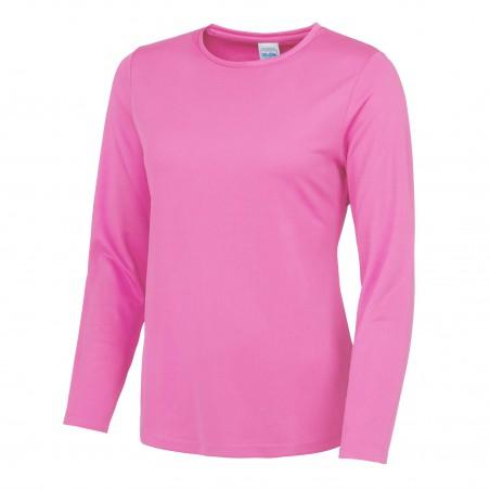 Ladies Long Sleeve Cool Wicking T-Shirt