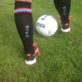 BTFC Adult Football Sock