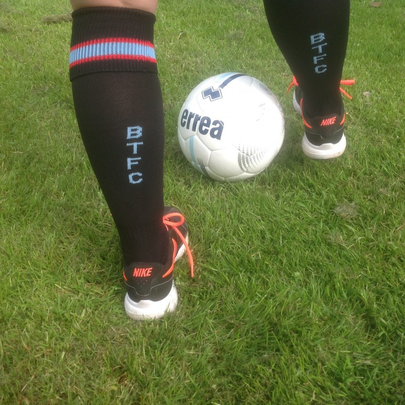 BTFC Adult Football Sock